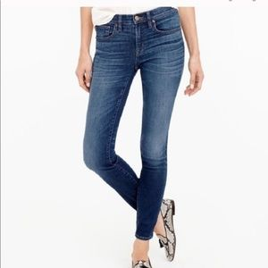 J. Crew 26 Toothpick Ankle Jeans Lewiston Wash